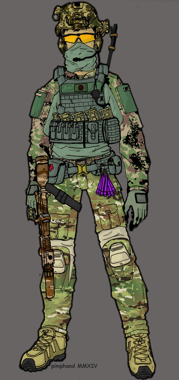 JDF SOG Assaulter 2 colored by pimphand