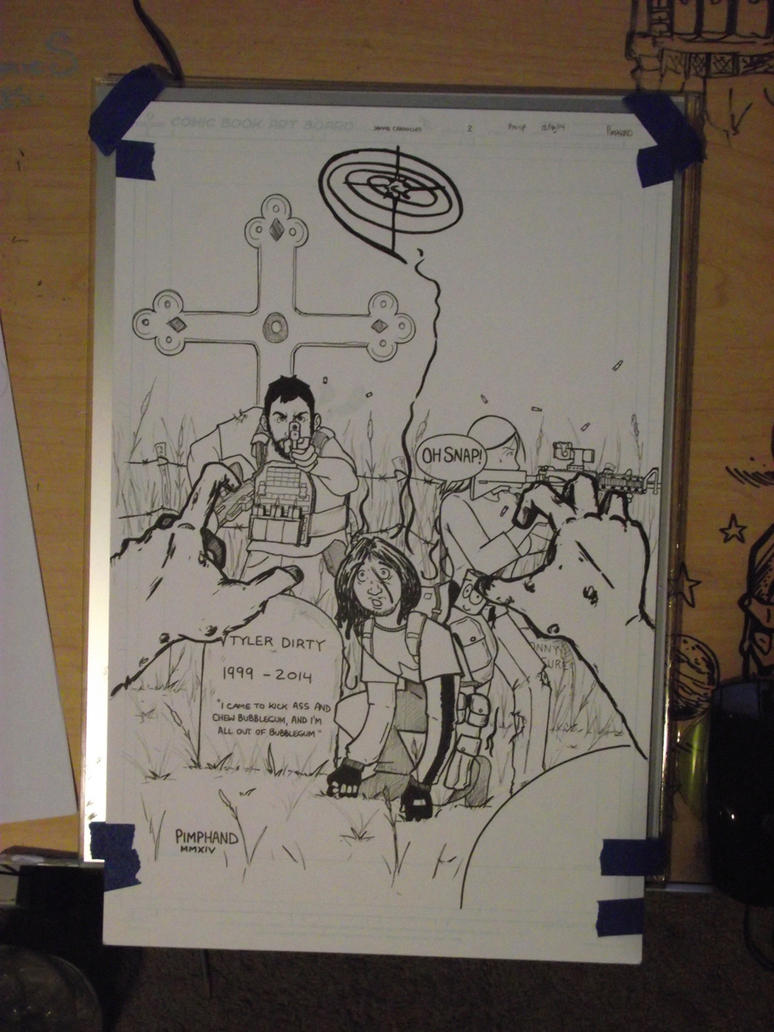 The Process...Inks by pimphand