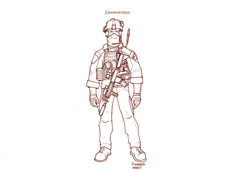 Commando by pimphand