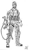 Texas Ranger Scout Illustration