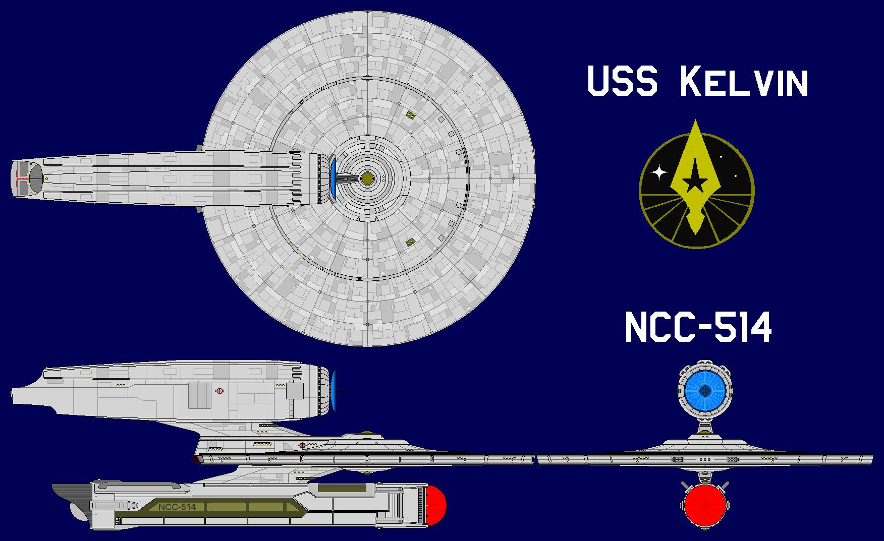 USS Kelvin NCC-514 by GAT-X139 on DeviantArt