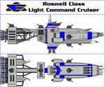 Roswell Class Light Command Cruiser