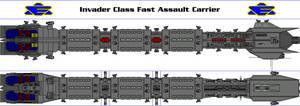Invader Class Fast Assault Carrier