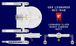 USS Leonardo NCC-1648 Refit
