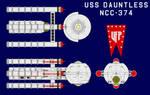 USS Dauntless NCC-374