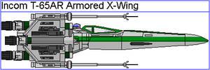 Incom T-65AR Armored X-Wing