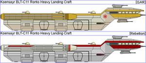 Koensayr BTL-C11 Ronto Heavy Landing Craft