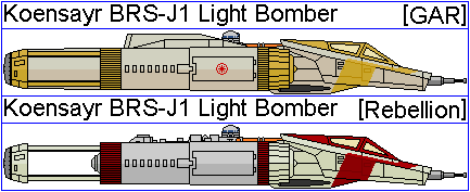 Koensayr BRS-J1 Light Bomber by GAT-X139