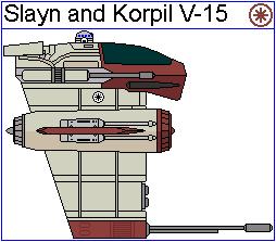 Slayn and Korpil V-15 Vanguard Heavy Interceptor by GAT-X139