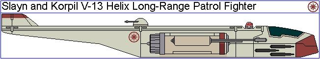Slayn and Korpil V-13 Helix Long-Range P. Fighter by GAT-X139