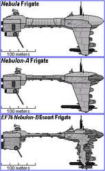 Nebula to Nebulon A to Nebulon B Evolution