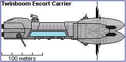 Twinboom Escort Carrier