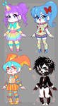 Clown Adopt Batch [OPEN 1/4] by Keo56