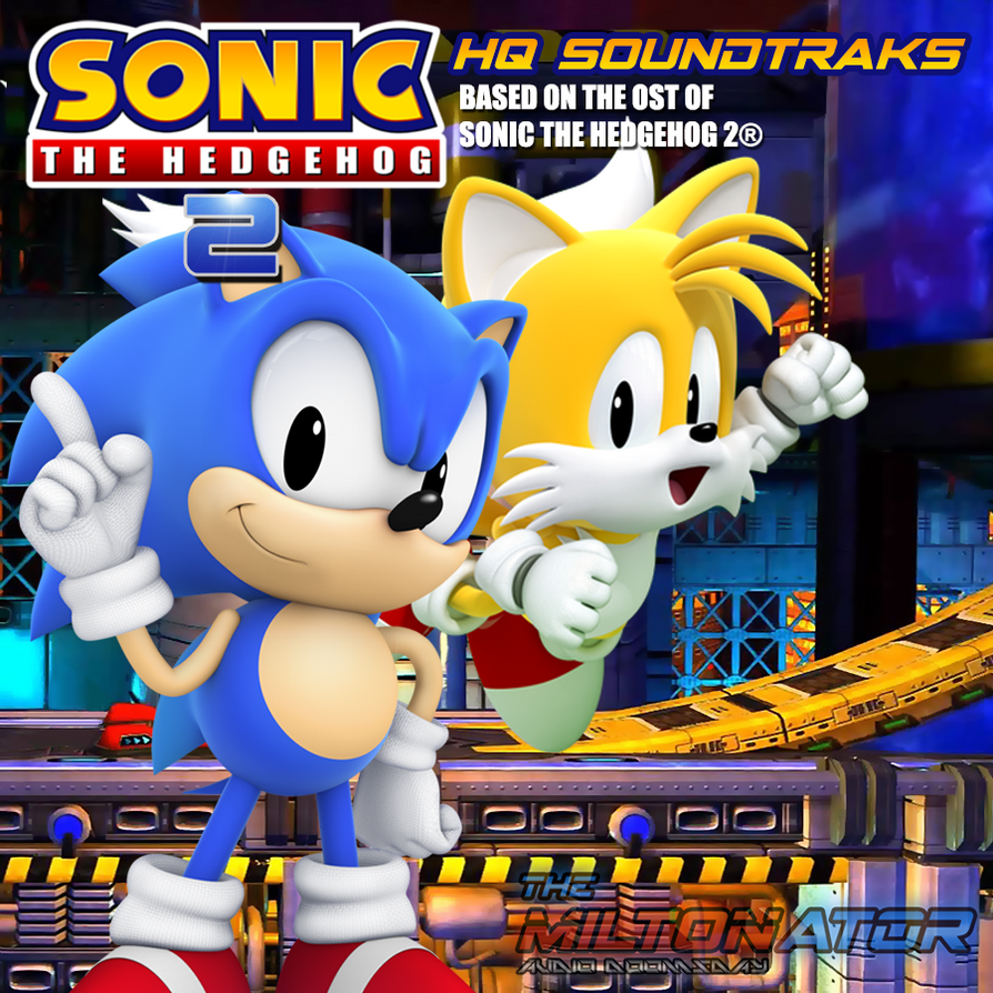 sonic 2 sky chase zone audio leve theme song by miltonator on