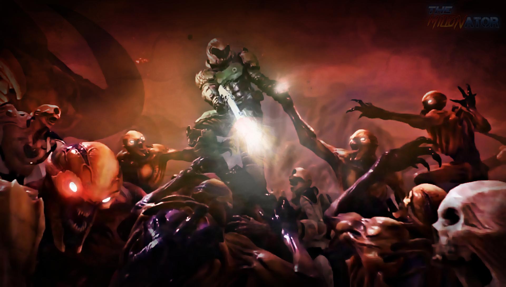 Doom 4 Wallpaper Miltonator Atmosphere By Miltonator On