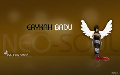 Badu... She's an artist ....
