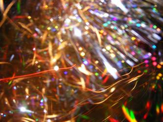 Curly Rainbow Texture by kaleidoscope-stock
