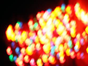Rainbow Christmas Lights by kaleidoscope-stock