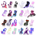 [MOVED] Huge Batch of Ponies #2