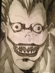 Day 13 - Ryuk by RobertJamieson