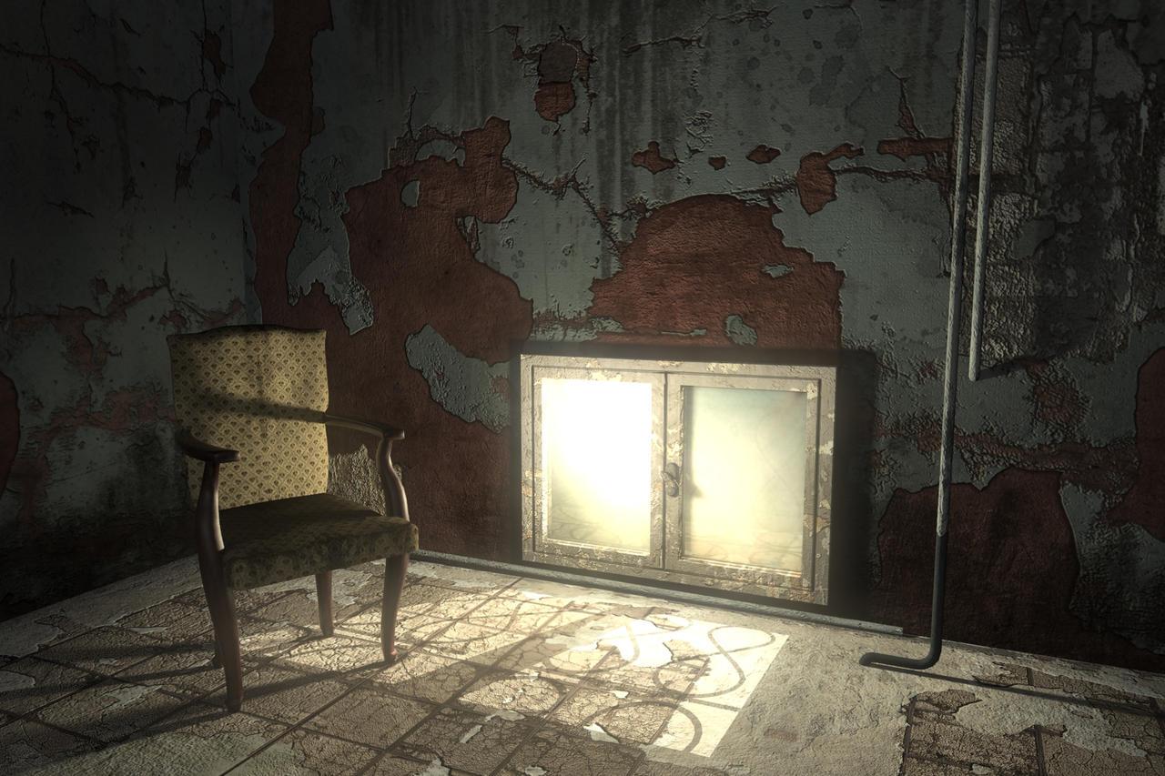 Abandoned Room 3D by Wallcrawler62 on DeviantArt