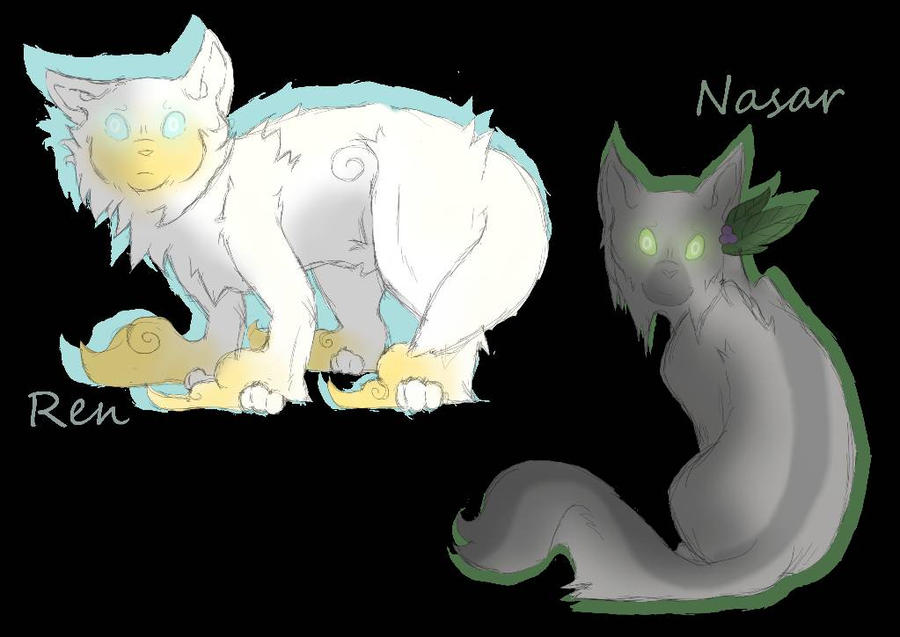 Some old warrior cats rp shit.. by Arteaoch