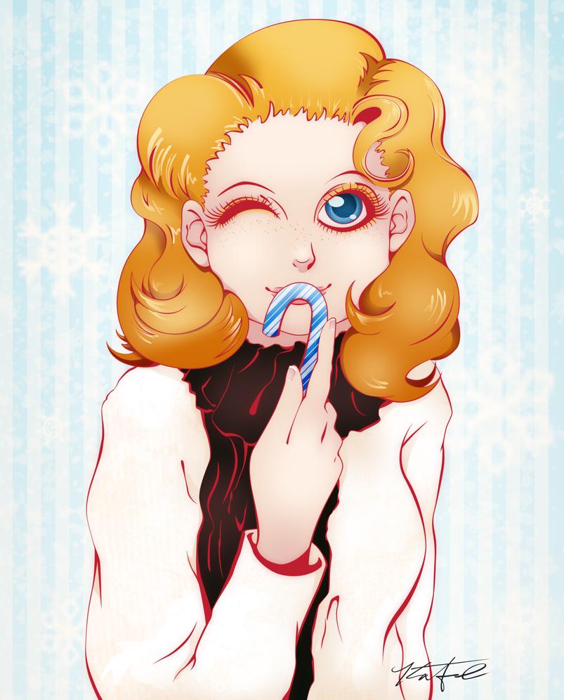 Anime Self Portrait by Angel-Naomi