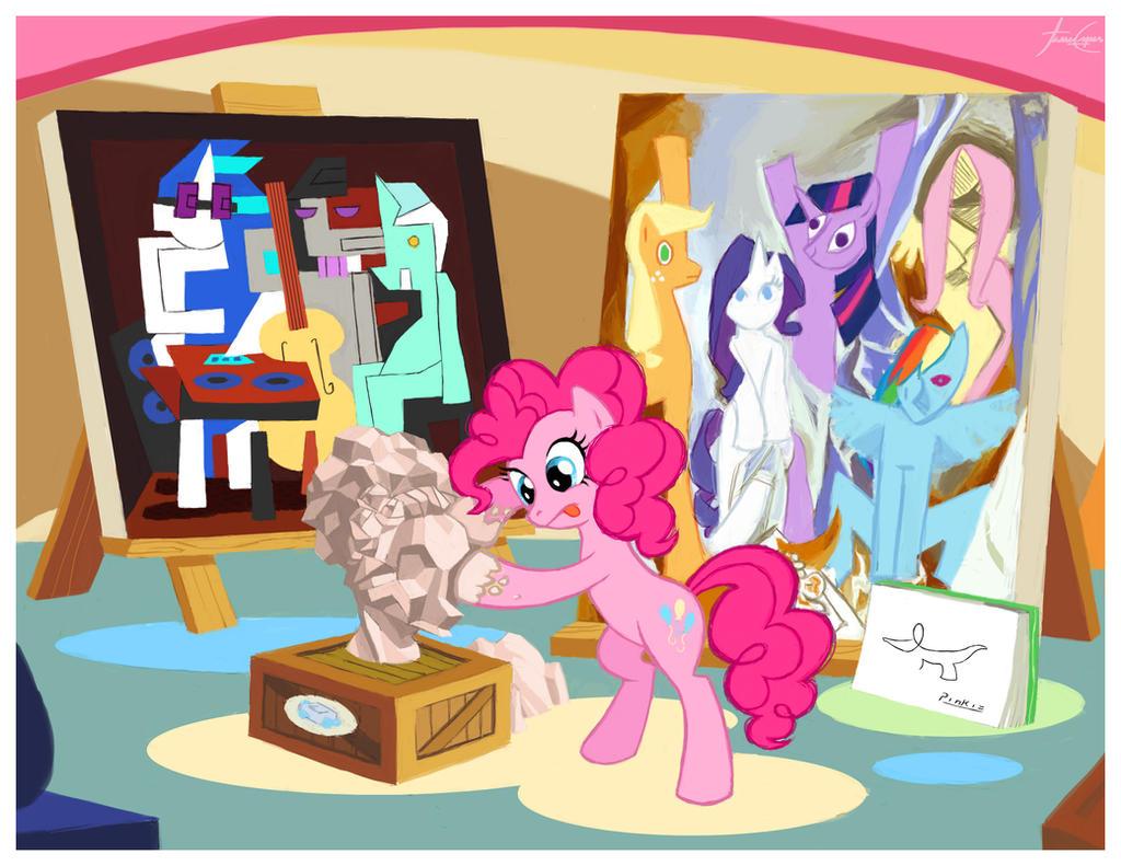 Pinkie Picasso - Art Series #1 by janeesper