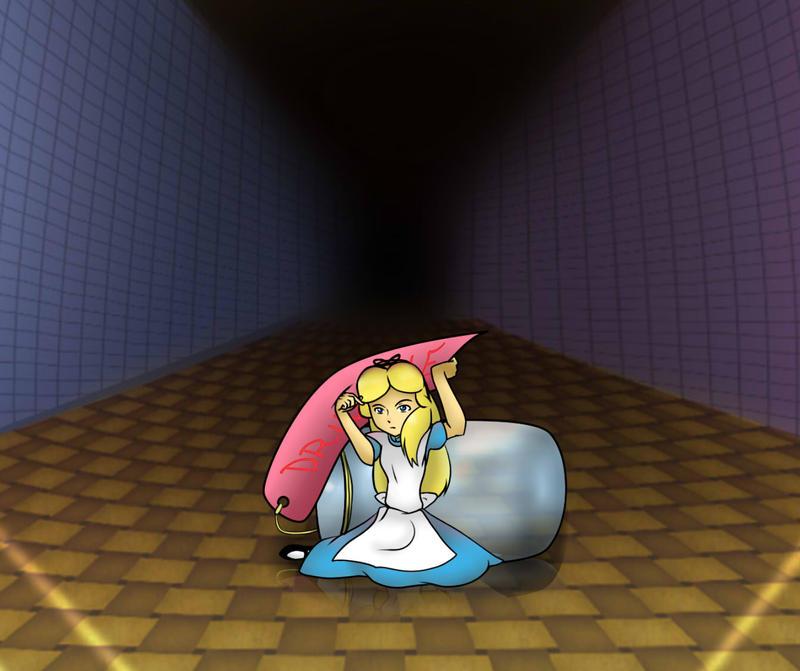 Shrink Anime Boy: Alice Shrinks By No-Face-girl On DeviantArt