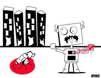 Robot Descorazonado by nanoboy007