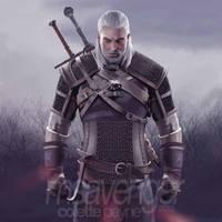 Geralt of Rivia by usmelllikedogbuns