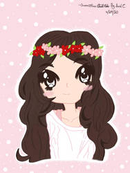 My cute anime me!!!