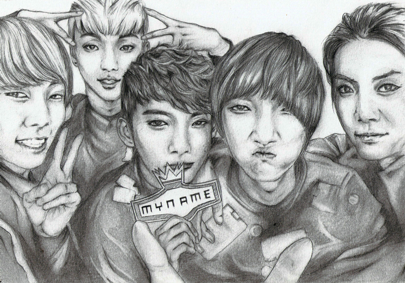 MYNAME by Alleeza