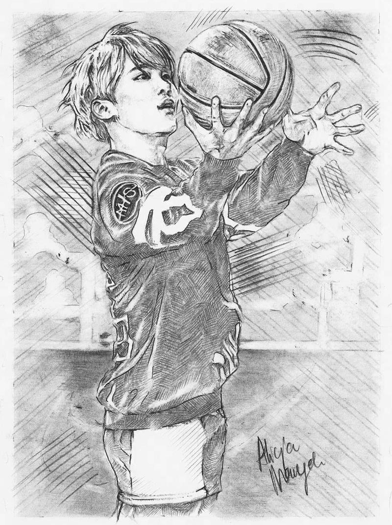 Basketball by Alleeza