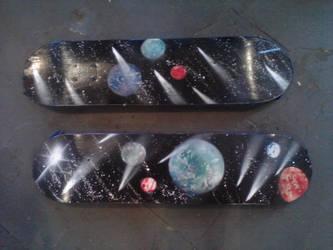 Skateboards by PriestessDream