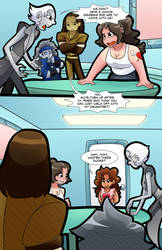 Stefanie and the Metalloids issue 1 page 18 by AlexDealey