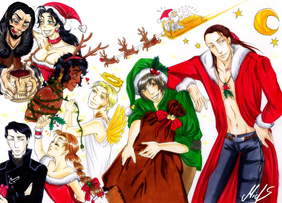 Merry X-Mas by M-I-D-S