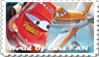 World Of Cars Fandom Stamp by The-Sparkly-Spycar