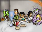 A Family Breakfast