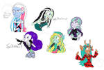 Monster High Sketchies