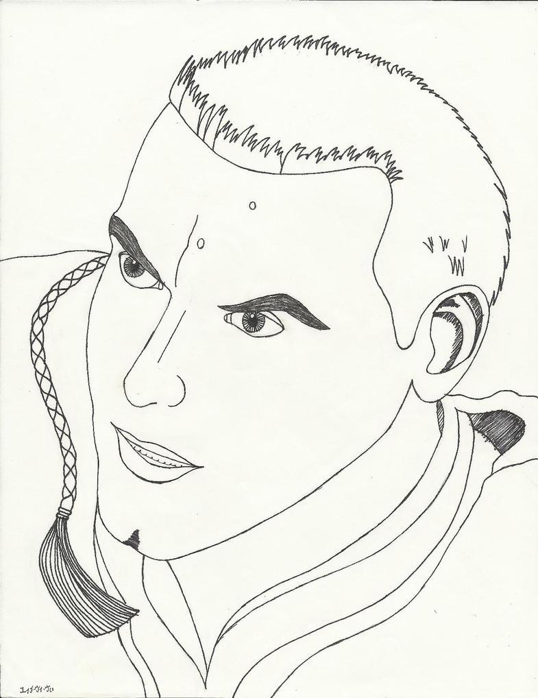 Ewan McGregor As ObiWan Fan Art by HVV