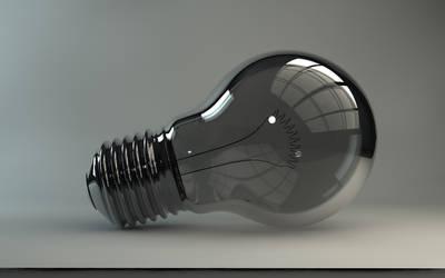 Light bulb render