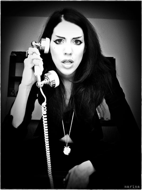 Telephone by MarinaCoric