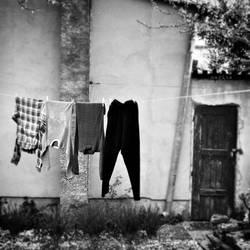 Drying Laundry by MarinaCoric