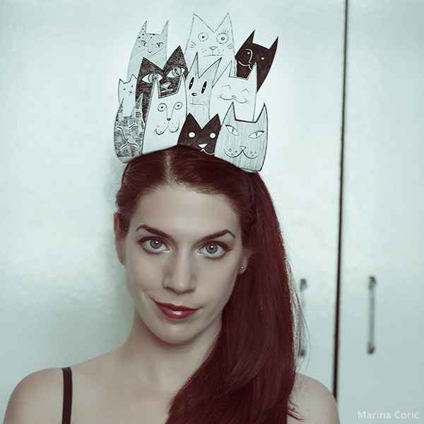 Crown of Cats by MarinaCoric