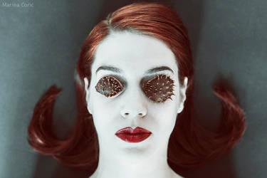 Piercing Eyes by MarinaCoric