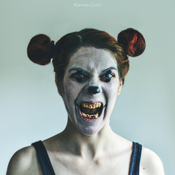 Mickey Got Rabies by MarinaCoric