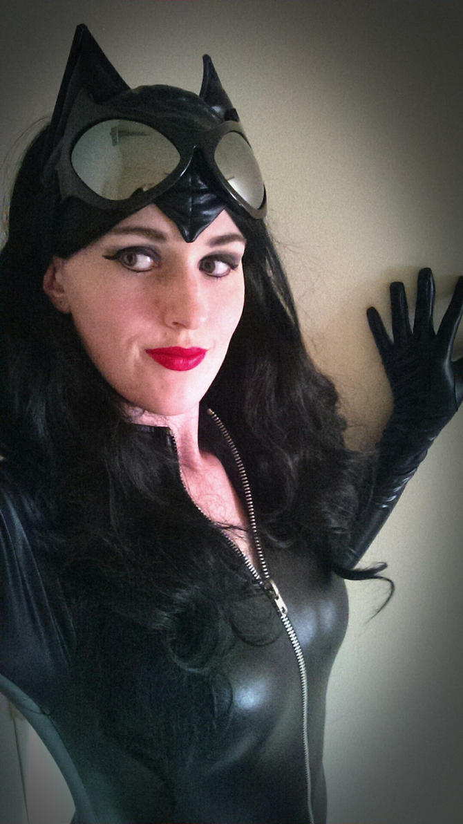 Catwoman- 'Hello Bruce...' by BeautifulRoseThorn