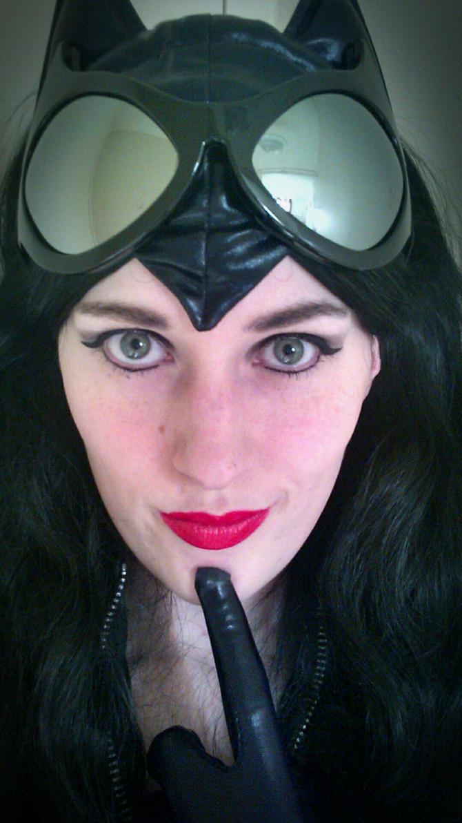 Catwoman- 'Need Help?' by BeautifulRoseThorn