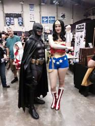 Wonder Woman and Batman